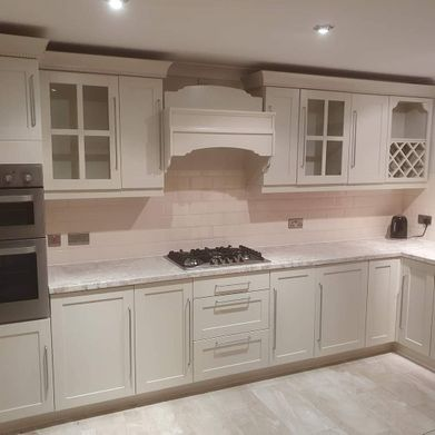 UPVC painted kitchen
