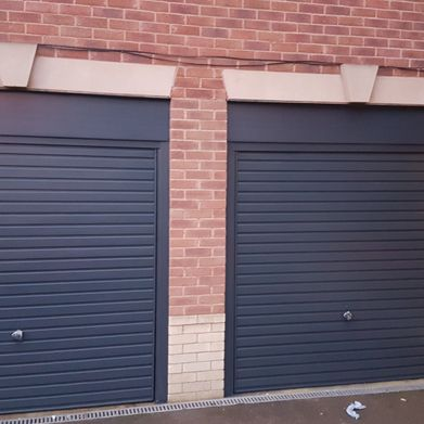 Garage doors after