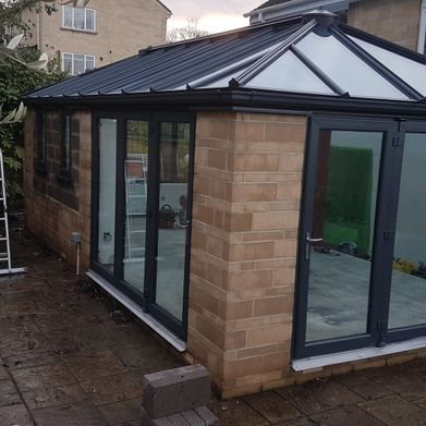 Conservatory after