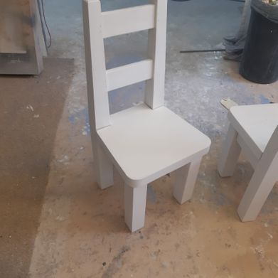 kitchen chair after