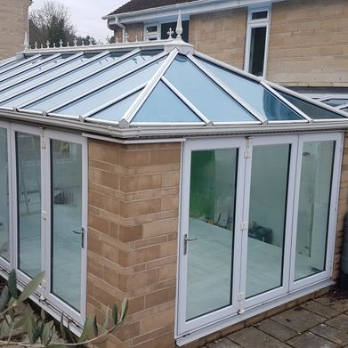 Conservatory before